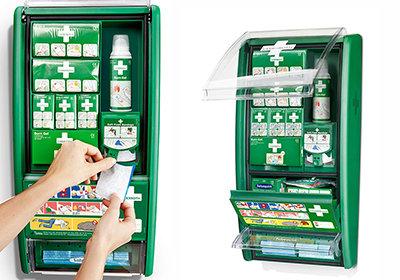 Apteczka Cederroth First Aid & Burn Station 5101103
