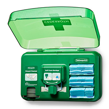 Dozownik Cederroth Wound Care Dispenser Blue 51011009
