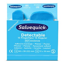 Plaster wykrywalny Blue Detectable Salvequick Cederroth 51030126