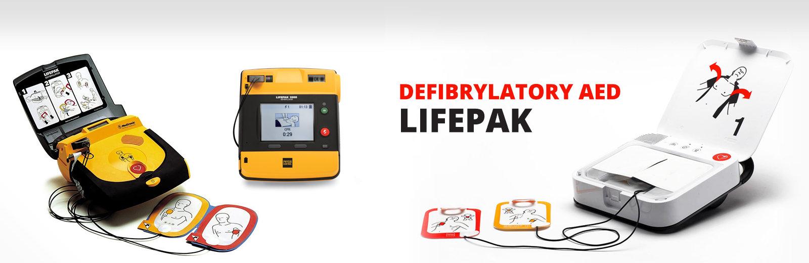 Defibrylatory AED Lifepak