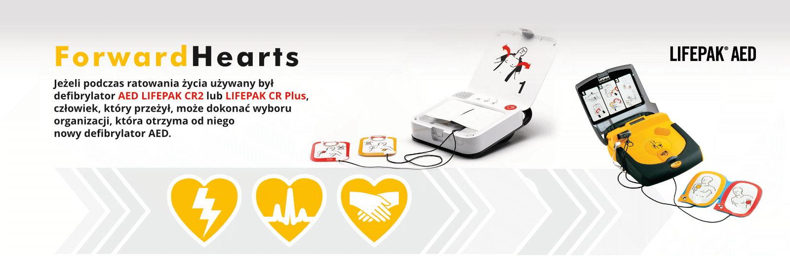 Forward Heart AED Lifepak